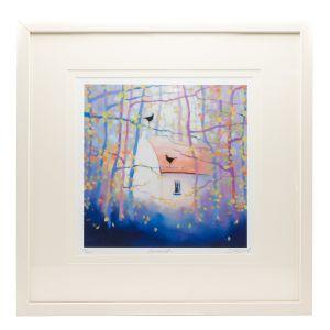 Sharon McDaid Home Birds 18 x 18 Frame
