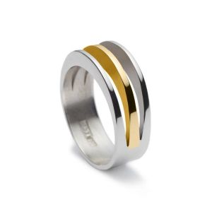 Maureen Lynch Eternal Dreams Silver/Gold Ring