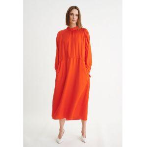 Inwear Pauline Satin Orange Dress