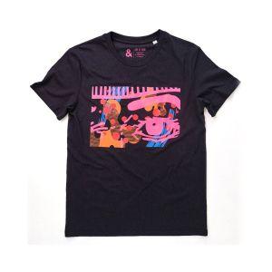 Jill & Gill Obsessive Black T-Shirt
