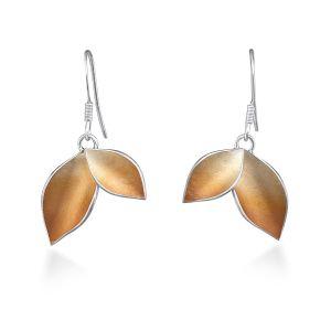 Jill Graham Autumnal Large Hook Earrings