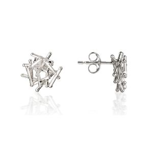 Jill Graham Magnetic Silver Studs