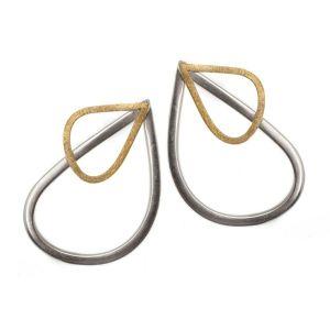 Jill Graham Wings Large Hook Earrings front