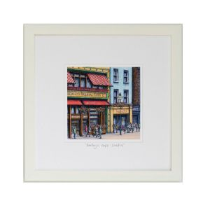 Jim Scully Bewleys Square Frame