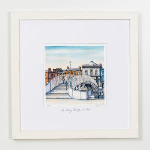 Jim Scully Square frame Ha' Penny Bridge