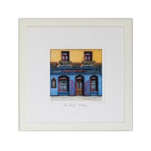 Jim Scully The Quays Galway Square Frame