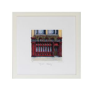Jim Scully Tig Coili Galway Square Frame