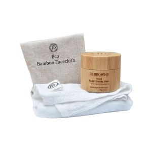 Jo Browne Face Balm & Cloth Gift Set