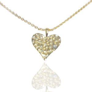 Jo Harpur My Hammered Heart Necklace