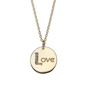 Jo Harpur Love Necklace