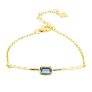 Juvi Manhattan Gold Plated Iolite Bracelet