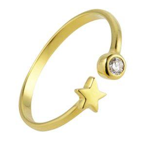 Juvi 9kt Open Skies Star Diamond Ring