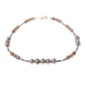 K Kajoux Silvermines Linear Necklace