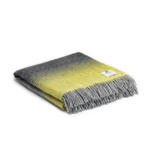 McNutt of Donegal Starry Night Yellow Throw