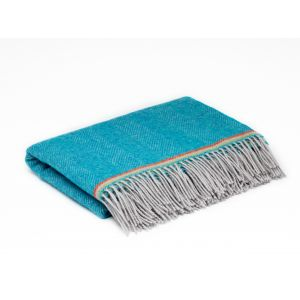 McNutt of Donegal Sea Blue Mini Blanket