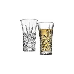 Killarney Crystal Trinity Fluted Shot Glass
