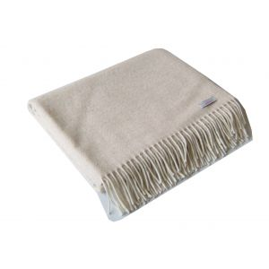 McNutts Lambswool Pashmina Wrap Oatmeal