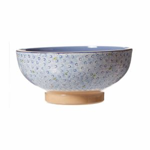 Nicholas Mosse Salad Bowl Lawn Light Blue