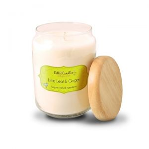 Celtic Candles Lime Leaf and Ginger Pop Candle