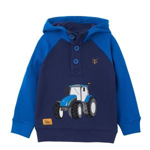 Little Lighthouse Jack Blue Tractor Sweater