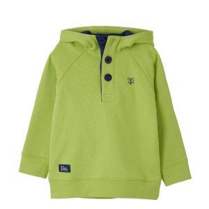 Little Lighthouse Jack Lime Sweatshirt front