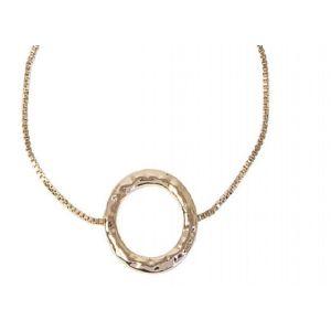 Lovethelinks Rose Gold Ring Necklace