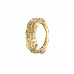 Loinnir Jewellery Ór Cuffed 8mm Gold Earring