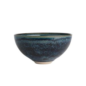 Louis Mulcahy Small Navy Salad Bowl