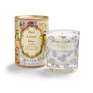 LoveOlli Red Letter Day Tin Scented Candle