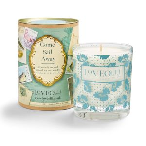 LoveOlli Sail Away Tin Scented Candle