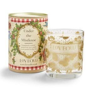 LoveOlli Under the Mistletoe Scented Candle
