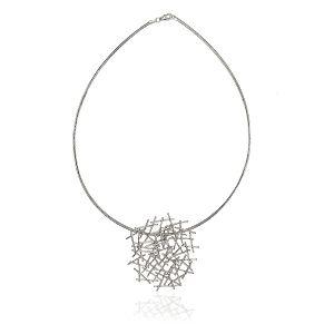 Jill Graham Magnetic Silver Pendant