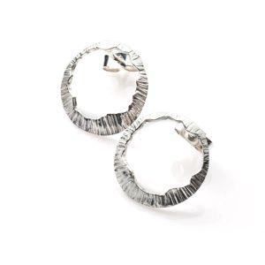 Martina Hamilton Shell Stud Earrings