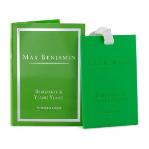 Max Benjamin Bergamot & Ylang Ylang Scented Card