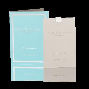 Max Benjamin Blue Azure Scented Card