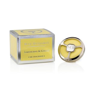 Max Benjamin Lemongrass & Ginger Car Fragrance