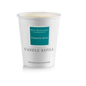 Max Benjamin Turquoise Water Candle Refill