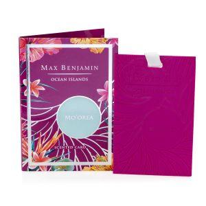 Max Benjamin Ocean Islands Mo'orea Scented Card