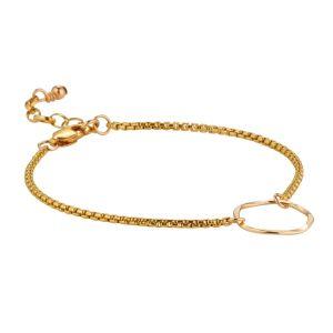Scribble & Stone Textured Ring Bracelet