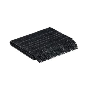 McNutt of Donegal Charcoal Maze Pashmina