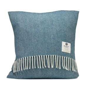 McNutt of Donegal Kingfisher Spotted Cushion