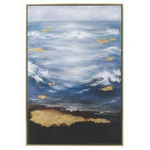 Mindy Brownes Peace Framed Canvas