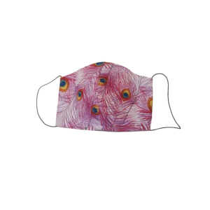 Montgomery Pink Peacock Face Covering