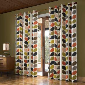 "Orla Kiely Multi Stem Curtains 90""x 90"""