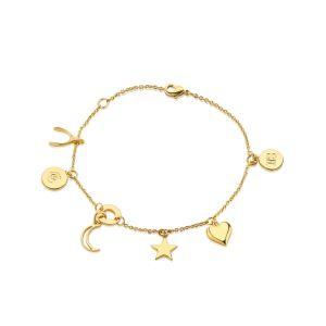 Newbridge Multi Charm Bracelet by Amy Huberman