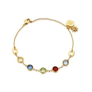 Newbridge Amy Huberman Bracelet with Coloured Stones
