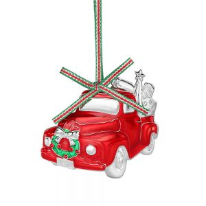 Newbridge Red Car Christmas Decoration
