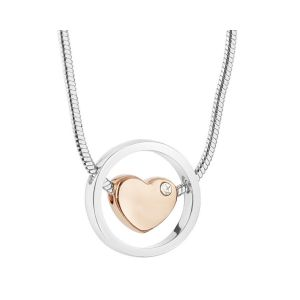 Newbridge Rose Gold Heart Pendant