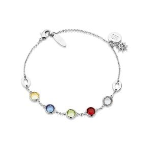Newbridge Silver Bracelet With Multi Stones