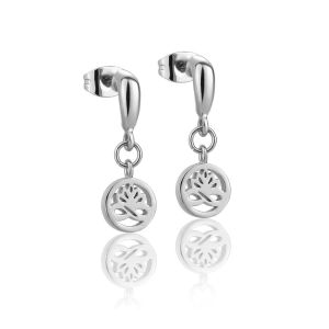 Newbridge Silver Clear Stud Earrings